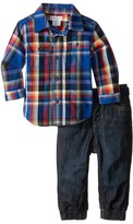 Ralph Lauren Denim Jogger Pants Set (Infant)