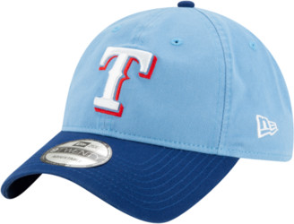 New Era MLB 9Twenty Core Classic Replica Cap - Texas Rangers - Baby Blue / Royal