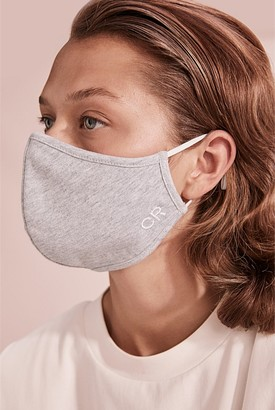 Country Road CR Embroidered Cotton Mask