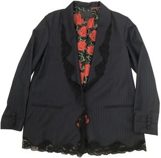 Alexander Wang Blue Wool Jackets