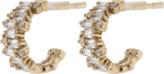 Suzanne Kalan Fireworks Diamond Hoop Earrings