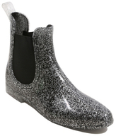George Glitter Effect Short Wellington Boots