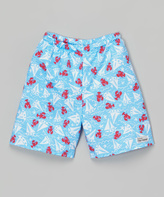 Flap Happy Somersault Sailboat Swim Trunks - Infant & Toddler