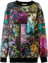 A.F.Vandevorst clash print jumper