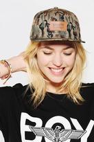 Wesc Weland Camo Snapback Hat