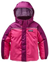 Patagonia Toddler Girl's 'Snow Pile' H2No Waterproof Colorblock Jacket