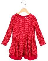 Chloé Girls' Printed Draped Dress