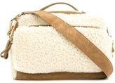 Pierre Hardy reporter shoulder bag - women - Sheep Skin/Shearling - One Size