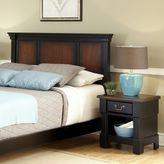 Home Styles Aspen 2-pc. King Headboard & Nightstand Set