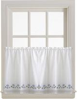 Asstd National Brand Leighton Rod-Pocket Window Tiers