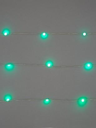 100 LED Digital Dewdrop Rainbow Indoor/Outdoor Christmas Lights
