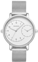Skagen 'Hagen' Mesh Strap Watch, 36mm