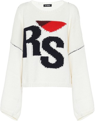Raf Simons Intarsia wool sweater
