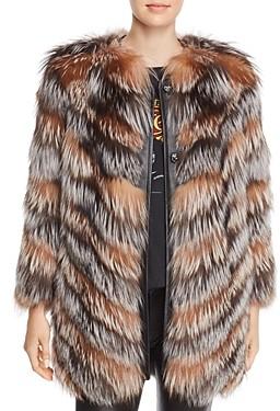 Maximilian Furs x Zac Posen Fox Fur Coat - 100% Exclusive