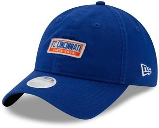 New Era Women's Blue FC Cincinnati Patch 9TWENTY Adjustable Hat