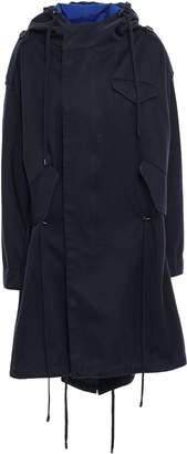 Etoile Isabel Marant Oversized Cotton-gabardine Hooded Parka