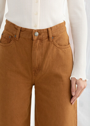 And other stories High Rise Culotte Jeans
