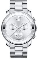 Movado Bold Stainless Steel Chronograph Bracelet Watch