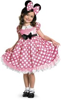 Disguise Minnie Mouse Pink Glow-in-the-Dark Costume (Toddler, Little Girls, & Big Girls)