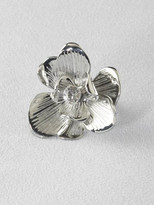 Engraved Flower Ring