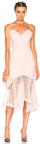 Nicholas Guipure Lace Cocktail Dress in Pink.