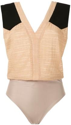 Olympiah Cirse panelled bodysuit