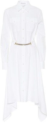 J.W.Anderson Asymmetric cotton shirt dress
