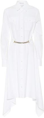 J.W.Anderson Asymmetric cotton shirt dress