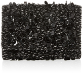 Oscar de la Renta Embroidered Petite Evening Clutch
