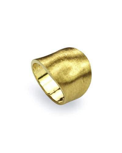 Marco Bicego Lunaria 18k Gold Medium Ring