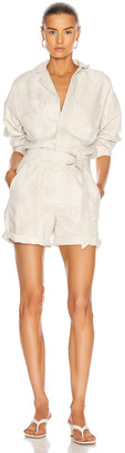 Citizens of Humanity Willa Utility Romper in Sand Castle | FWRD
