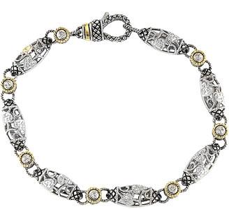 Candela Andrea Tesoro 18K & Silver 0.19 Ct. Tw. Diamond Bracelet