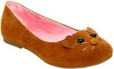 Jelly Beans Tan Arrow Ballet Flat