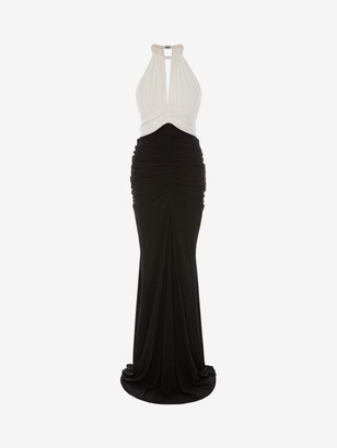 Alexander McQueen Halter neck Evening Dress