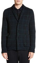 TOMORROWLAND Men's Wool Blend Knit Sportcoat