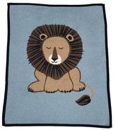 Lucky Jade Lion Cotton-Cashmere Baby Blanket