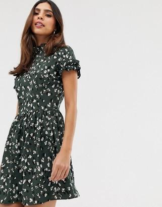 AX Paris short frill sleeve mini dress
