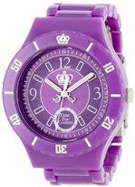 Juicy Couture Women's 1900813 Taylor Purple Plastic Bracelet Watch