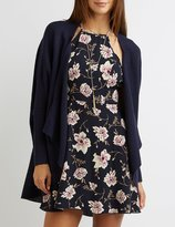 Charlotte Russe Cascade Cocoon Cardigan