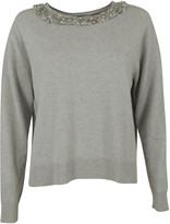 Blugirl Silver Detailing Sweater