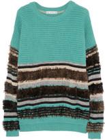 Dagmar Liv merino wool-blend sweater