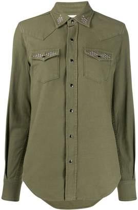 Saint Laurent Stud-Embellished Shirt
