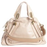 Chloé beige leather 'Paraty' convertible tote bag