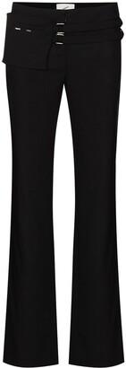 Coperni Belted Flared Trousers