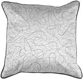 "Decor 140 Cross Line Decorative Pillow - 18"" x 18"""