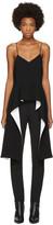 Givenchy Black Draped Hem Camisole
