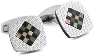 Tateossian Cushion Diamond Cufflinks