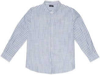 Il Gufo Striped cotton shirt