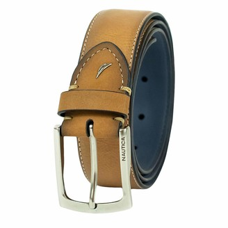 Nautica Men's Two-tone Casual Belt