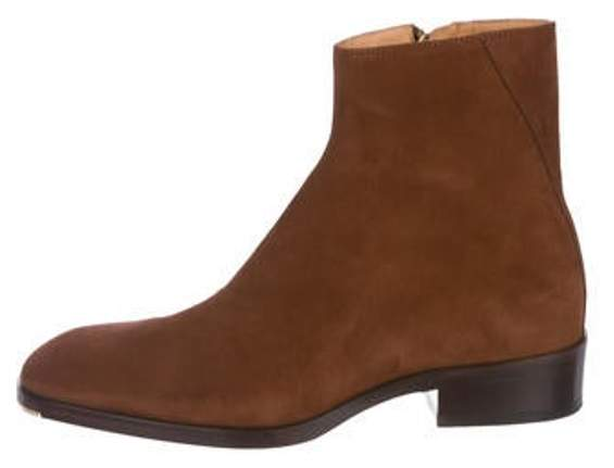 Jimmy Choo Suede Chelsea Boots brown Suede Chelsea Boots